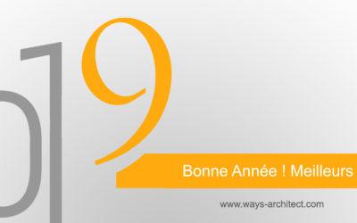 Les architectes de Ways Architect Tunisie vous souhaite une bonne année 2019