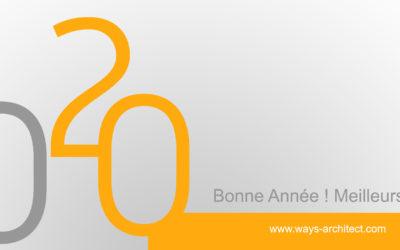 Les architectes de Ways Architect Tunisie vous souhaite une bonne année 2020